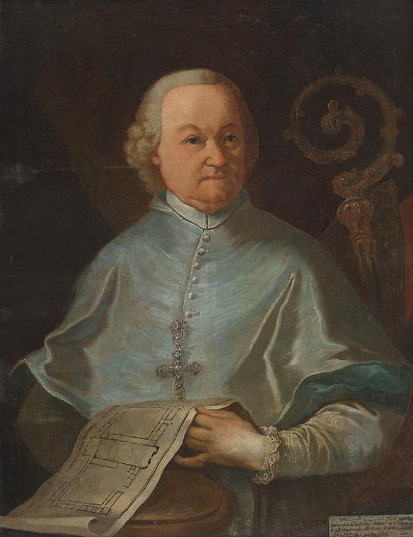 Johann Lucas Kracker - Podobizeň prepošta Premonštrátskeho kostola v Jasove, opáta Andreja Sauberera