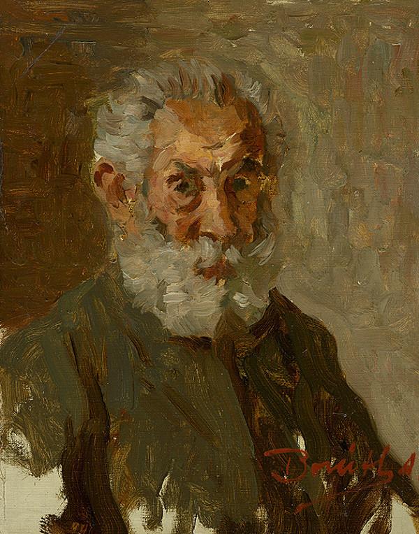 Andor Borúth – Podobizeň muža s bradou