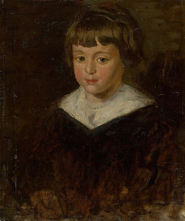 Andor Borúth - Podobizeň dievčaťa