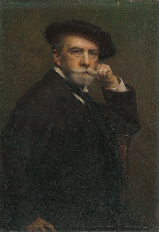 Leopold Horovitz - Vlastná podobizeň