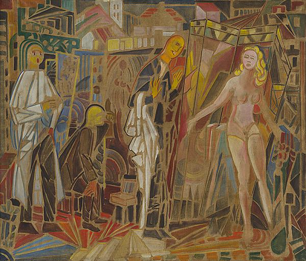 Anton Jasusch – Návšteva v ateliéri