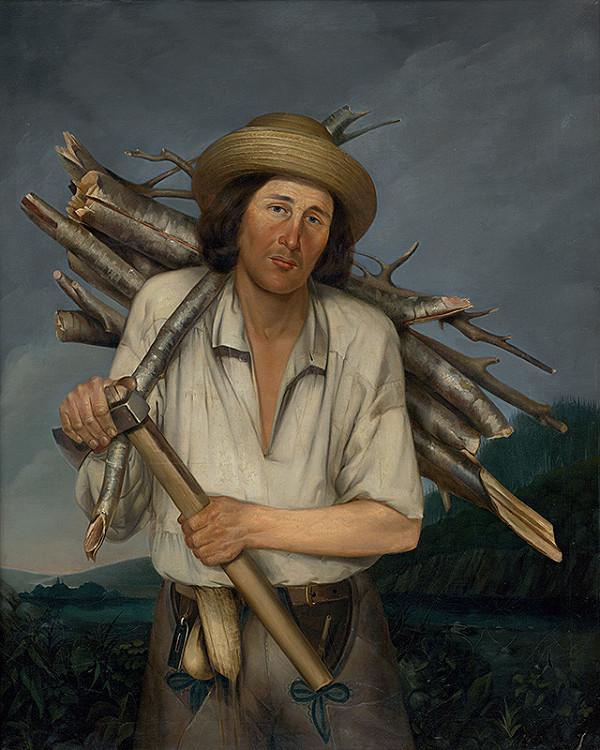 Anton Stadler - Muž s nošou dreva