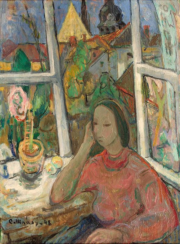 Juraj Collinásy – Žena pri okne
