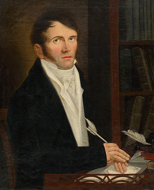Stredoeurópsky maliar z konca 19. storočia - Podobizeň mladého lekára