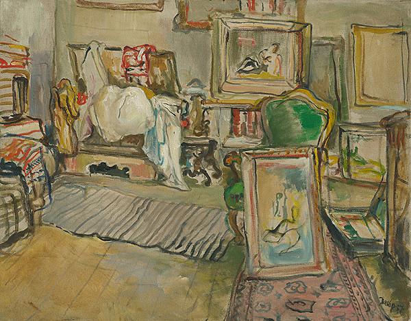 Július Jakoby – Umelcov interiér