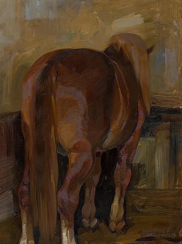 Gejza Kieselbach - Kôň