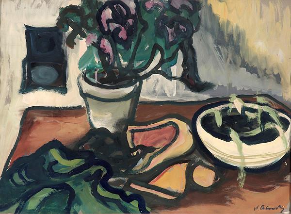 Xénia Columby-Sinayová - Zvädnuté kvety