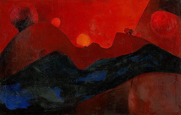 Alexander Eckerdt – Červená krajina
