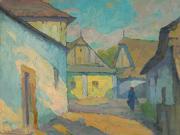 Ľudovít Čordák - Motív z východoslovenskej dediny