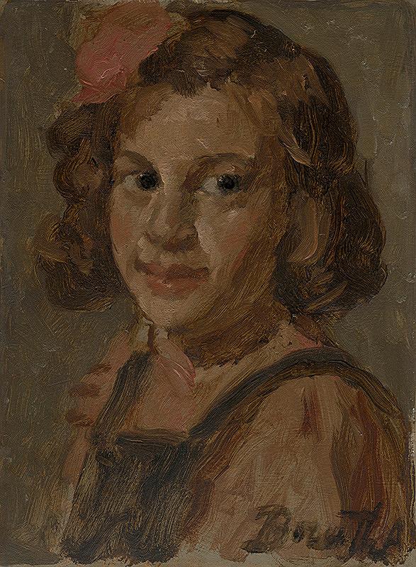 Andor Borúth – Podobizeň dievčaťa