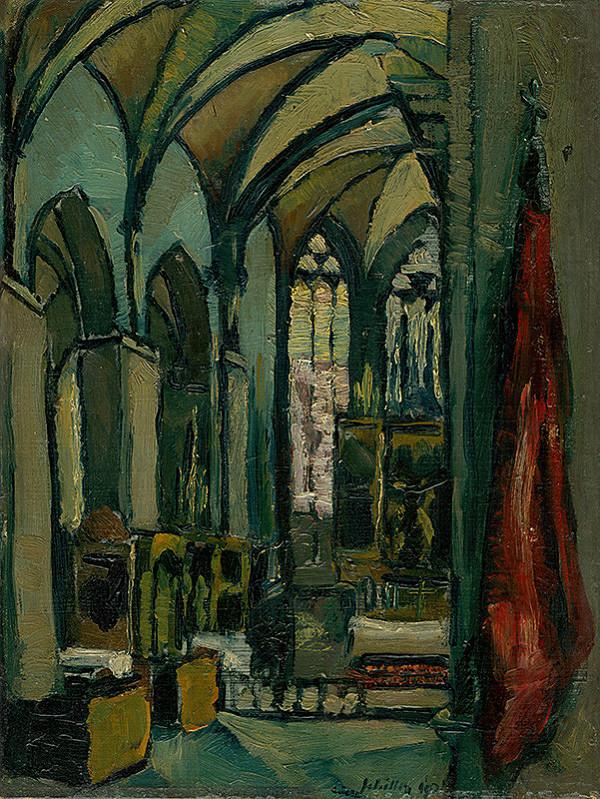 Gejza Schiller - Vnútro kostola