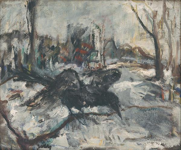 Július Jakoby – V zime