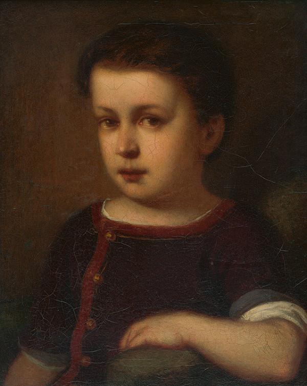 Gyula Benczúr – Podobizeň dieťaťa