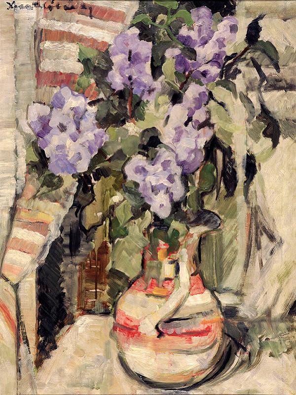 Xénia Columby-Sinayová - Kvety