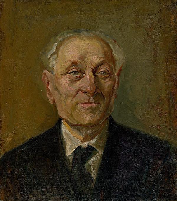 Ernest Rákosi - Portrét muža
