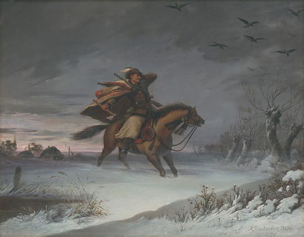 Vojtech Klimkovič - Jazdec na koni