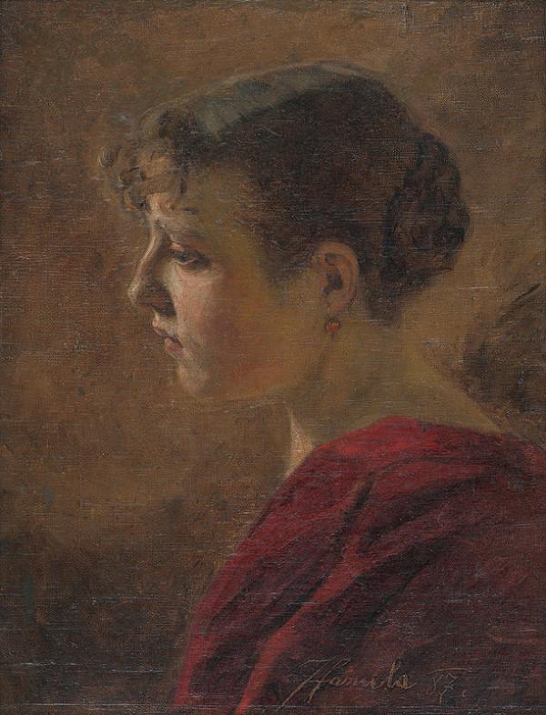 Jozef Hanula - Podobizeň ženy