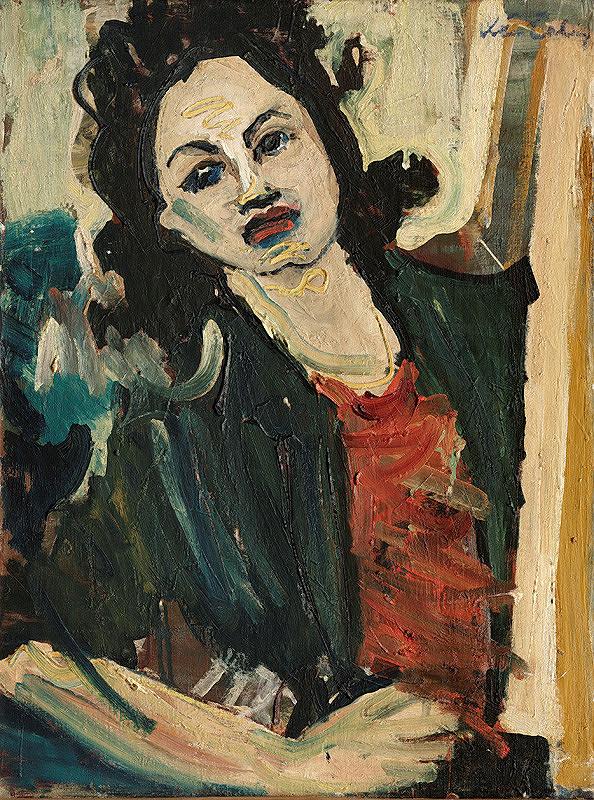 Xénia Columby-Sinayová - Autoportrét