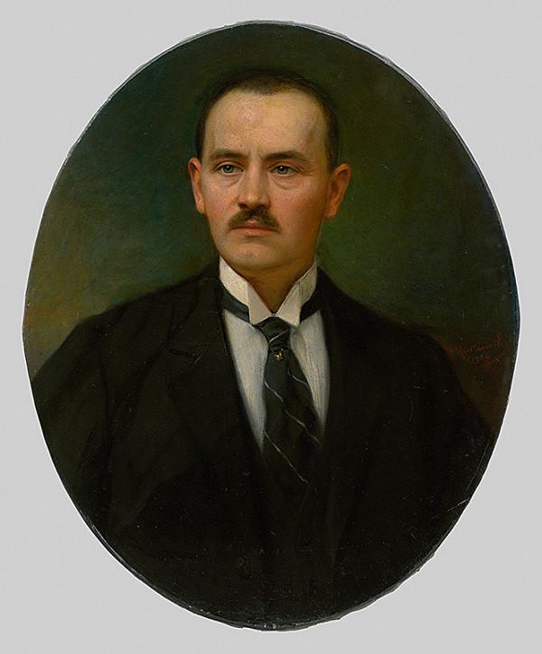 Maximilián Kurth - Podobizeň muža