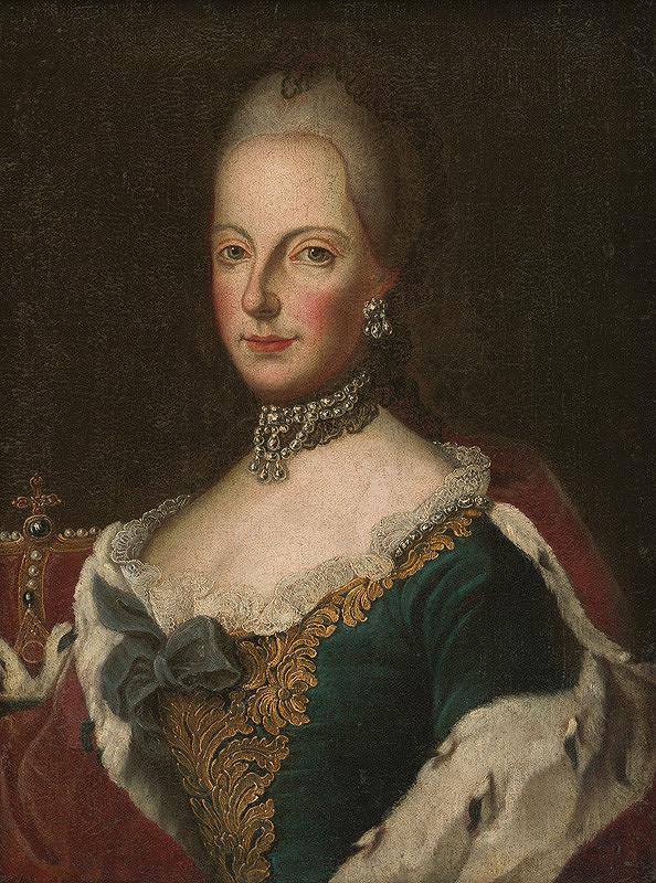 Stredoeurópsky maliar z polovice 18. storočia - Podobizeň Márie Terézie