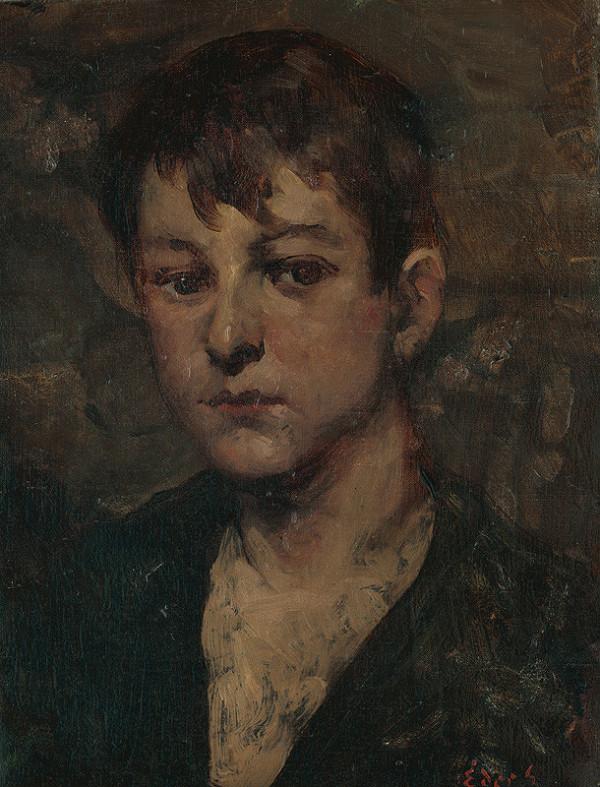 Július Éder – Hlava chlapca