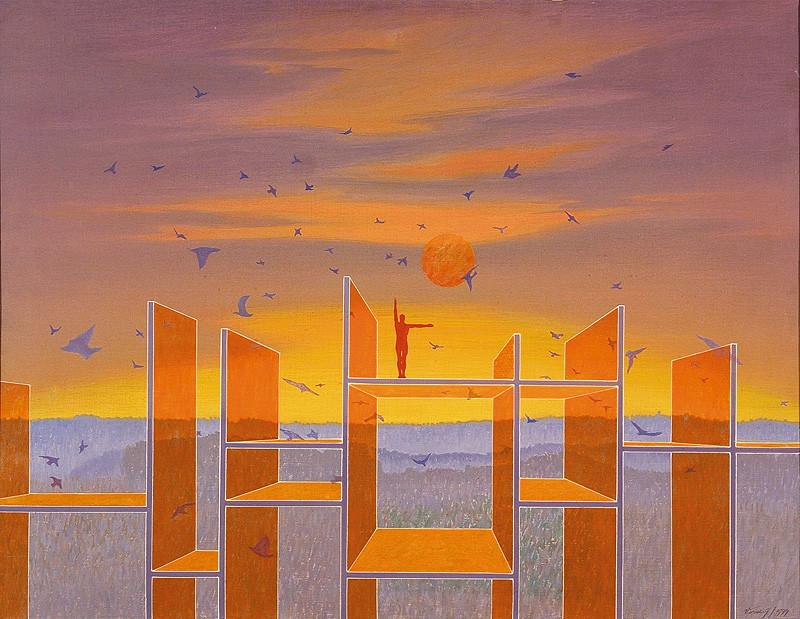 František Veselý – Pretvoríme krajinu na svoj obraz, 1979, Východoslovenská galéria