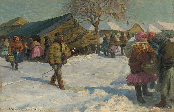 Teodor Jozef Mousson – V zime na dedine