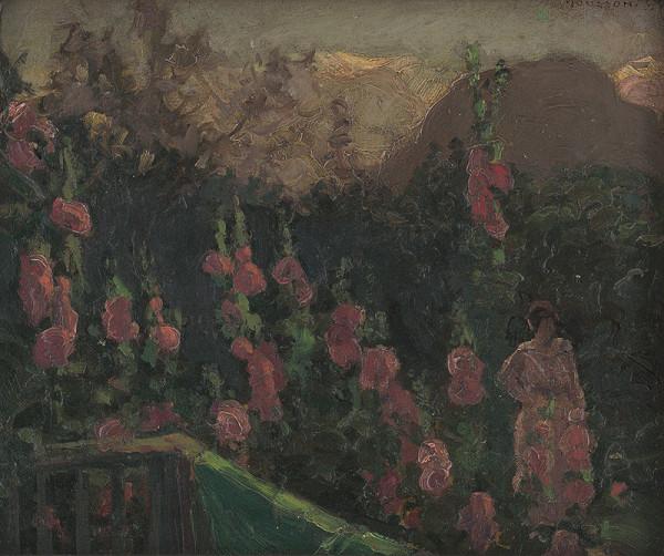 Jozef Theodor Mousson - V záhrade