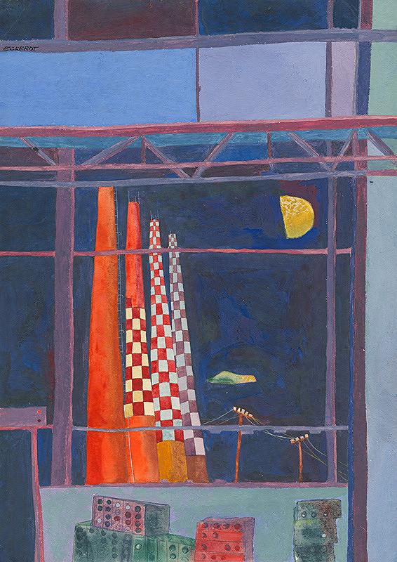 Alexander Eckerdt – Výstavba VSŽ