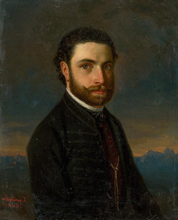 Ján Valentinyi - Podobizeň muža