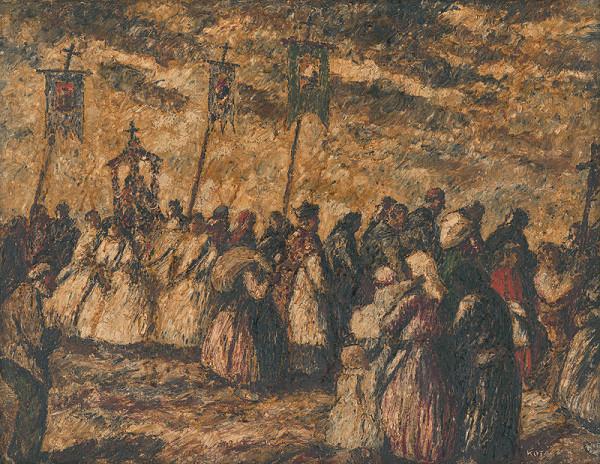 Károly Kotász - Dedinská procesia