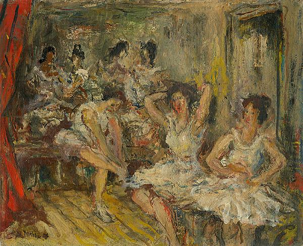 Július Jakoby - Tancujúce ženy