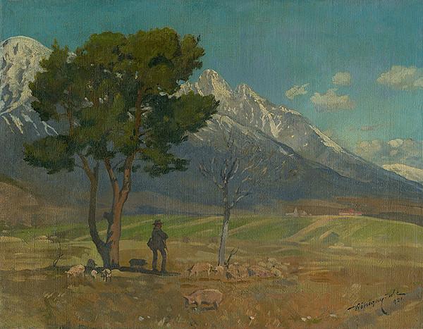 Elemír Köszeghy-Winkler - Pod Tatrami