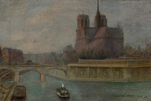 Elemír Halász-Hradil – Paríž