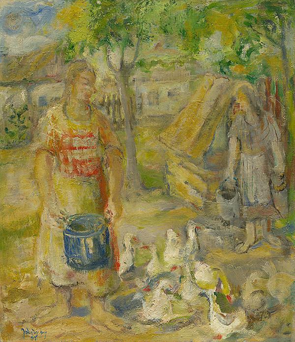 Július Jakoby - Na dvore