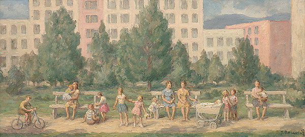 Jozef Bendík – V parku