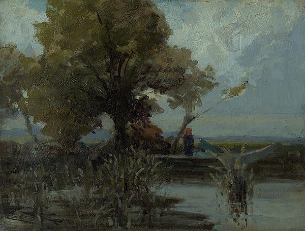 Ľudovít Čordák – Košatý strom pri jazere