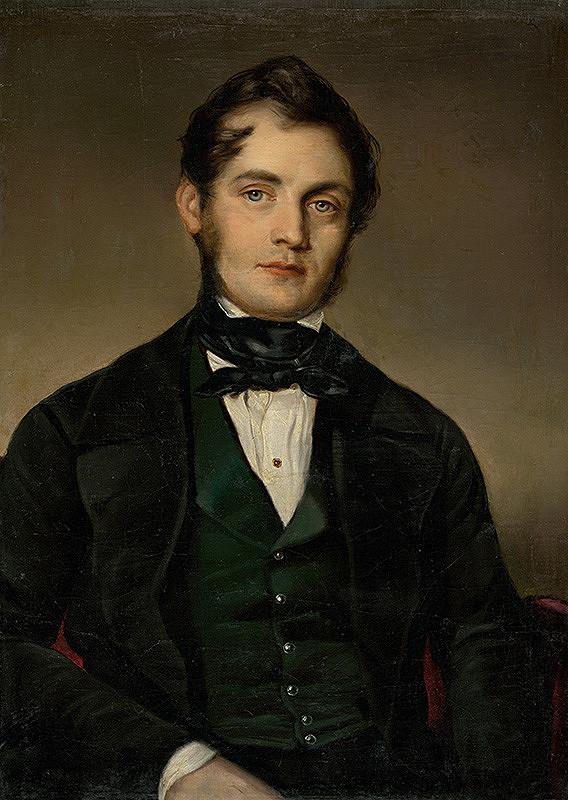 Stredoeurópsky maliar z 2. polovice 19. storočia - Podobizeň muža