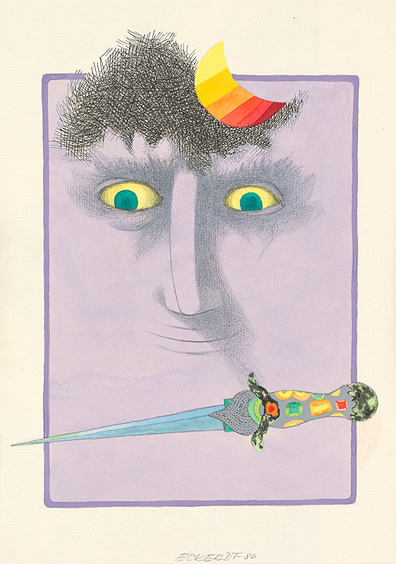 Alexander Eckerdt – Ilustrácia ku knihe Úbohá Líza VI.