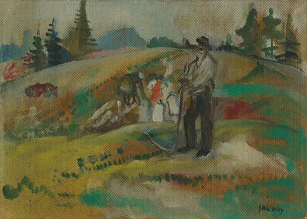 Július Jakoby - Na poli