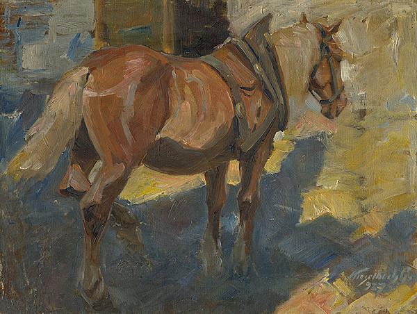 Gejza Kieselbach - Žltý kôň