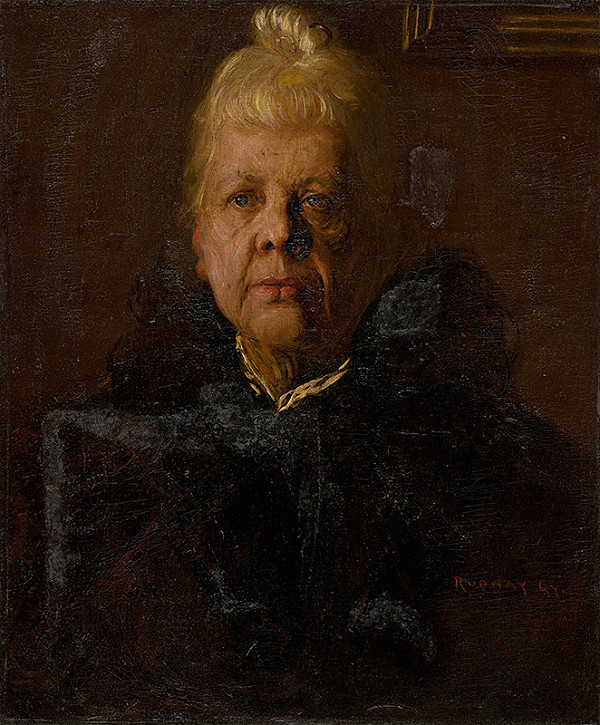 Július Rudnay - Podobizeň starej mamy