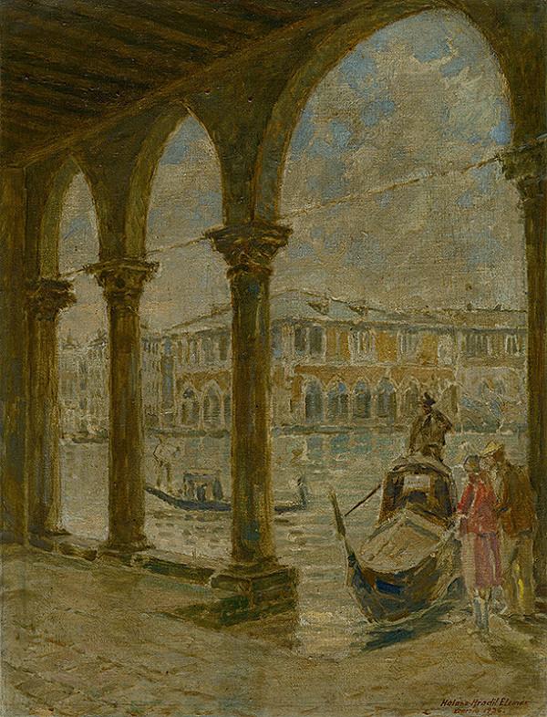 Elemír Halász-Hradil – Benátky
