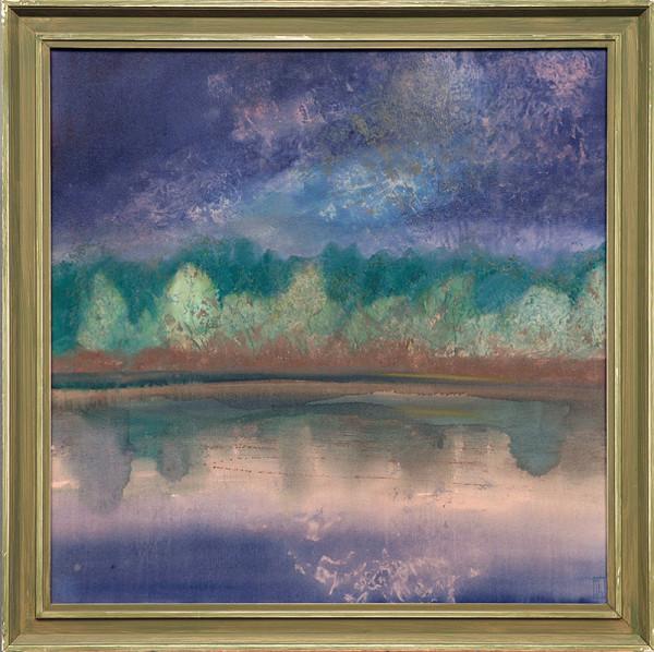Mikuláš Lovacký – Podvečer pri rybníkoch