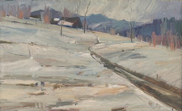 Vojtech Kalna – Zimná krajina