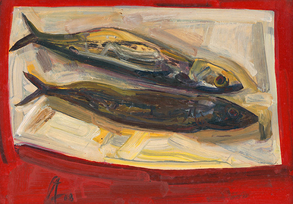 František Studený - Makrely na stole