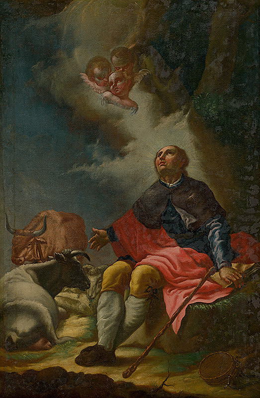 Johann Lucas Kracker - Svätý Vendelín