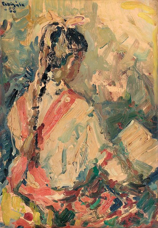 Juraj Collinásy – Dievča s knihou