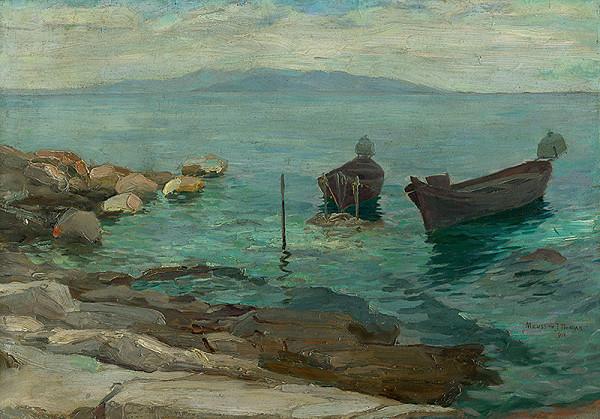 Teodor Jozef Mousson – Na pobreží