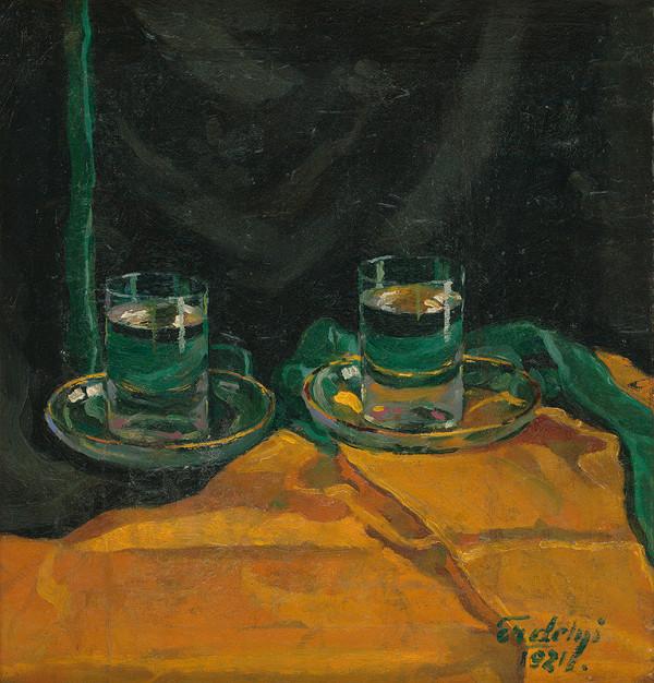 Vojtech Erdélyi – Poháre s vodou